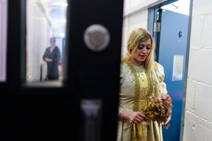 09 Nov 2017. Cork Opera House - Backstage. Anna Ilaya Ozolina.