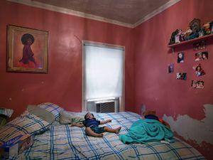 Semira Sleeping, Eastside, Detroit 2012