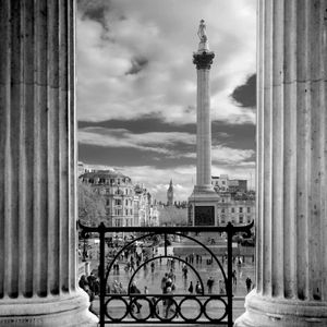 Trafalgar Square from the National Gallery