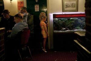 Savannah and the Fish Tank