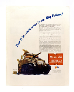 Monsanto® magazine ads from 1949 to 1980.