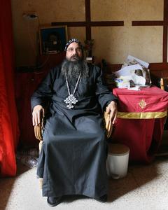 Armenian Priest - Jerusalem, old city