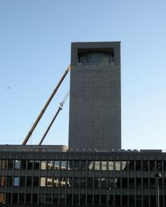 Supporting the government building © Petter Mejlænder