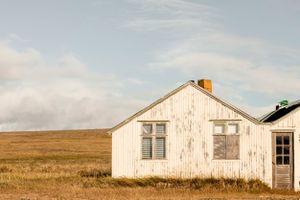 Abandoned farm, Hvítársíða, Borgarfjörður