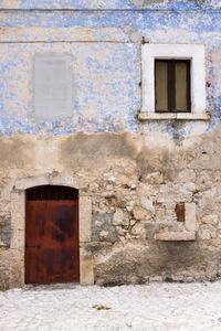 Mountain village detail, Abruzzo, Italy
