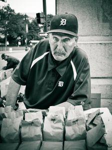 Peanut Vendor in Detroit