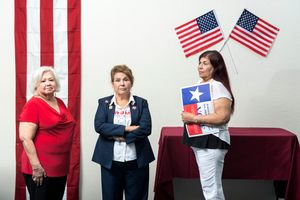 """Angelita """"Angie"""" Gonzales, Harlingen, Texas. """"I'm a Rio Grande Valley girl, born and raised. I'm 73 years old."""