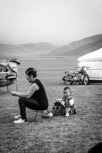 Portrait of Life on the Steppes