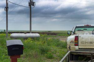on a prarie landscape , South Dakota