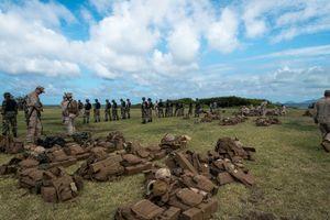 Training, Kāneʻohe Bay HI, June 2014
