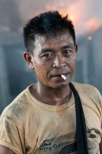 Metal recycler 2. Yangon, Myanmar