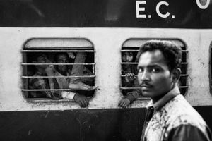 IMPRESSIONS AT THE OLD DELHI RAILWAY STATION 57