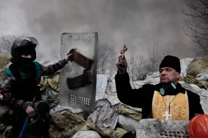 """Crime Without Punishment"" – MH 17 flight disaster, Ukraine, 17/18 July. Spot News Stories, 1st place. Jérôme Sessini, France, Magnum Photos for Time."