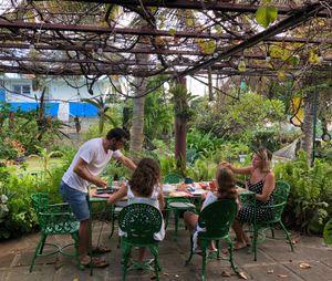 Family Breakfast, Villa Buganvilia, Varadero