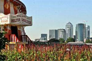 Helter Skelter And Canary Wharf