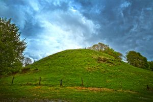 A grave hill