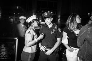 NYPD and USMC, New York NY, May 2017