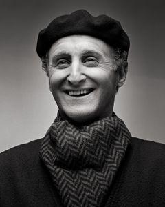 Self Portrait as Don Marcos José Goldchain Liberman (older)