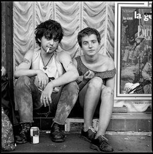 Couple on Street, Paris 1991