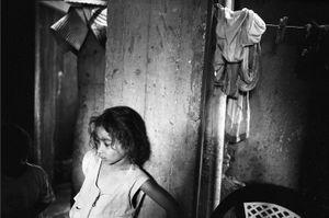 Girl in the Light, Bourj El Shamali Camp, Tyre Lebanon 2005