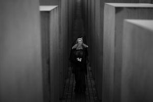 Background/ Holocaust Memorial Berlin