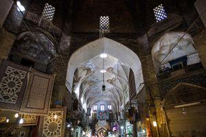 Bazaar of Isfahan.