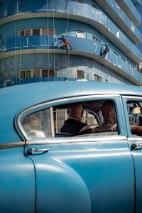 Blue in Cuba