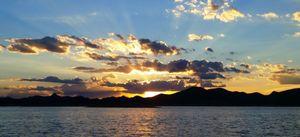 Sunset Lake Pleasant