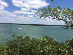 Oklahoma by a lake