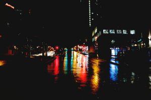 Quebec Night Rain #10