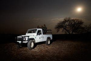 The Black Mambas on full moon patrol