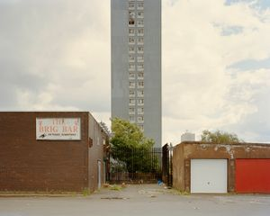 Red Road Flats, Glasgow 2010. © Richard Chivers