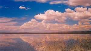 Laguna de Pozuelos. Monumento natural. Puna jujeña. Argentina