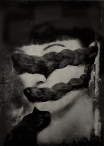 """The Task of Remembrance. 10""""x14"""" Tintype. From the series """"Soma"""" © Michelle Rogers Pritzl Rogers Pritzl"""