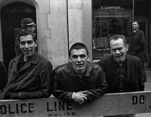 Pro-war Trio, NYC, 1967