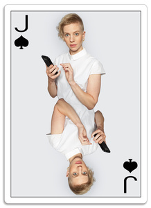 Planing Card - Jack of Spades