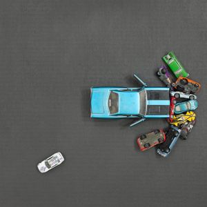 Toy Car Pile-up