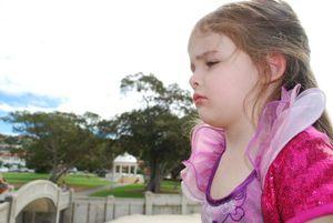 Even Princesses have bad days.