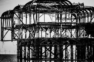 The Shadow of The West Pier