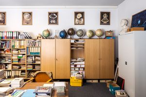 Workspace of the Archenhold Observatory in Berlin, Germany.