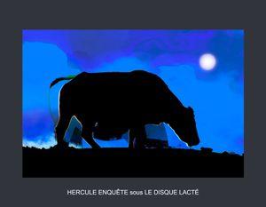 Hercule enquête sous le disque lacté