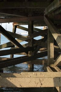 Superstructure, Harwich Pier, October 2017