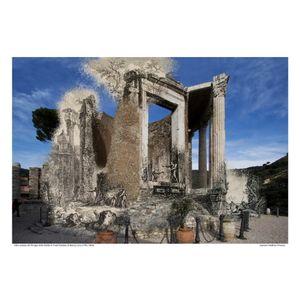 Tempio della Sibila in Tivoli [Vedute di Roma] circa 1778 / 2016