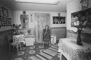 Zofia Rydet, Sociological Record, Chocholów, 1981. People in Interiors cycle © Zofia Augustynska-Martyniak