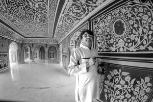 The painter in the maharajah palace