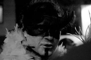 Devil in black and white