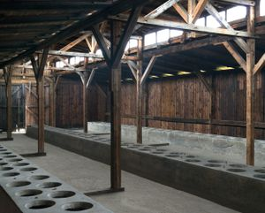Latrines, Auschwitz-Birkenau Memorial and Museum