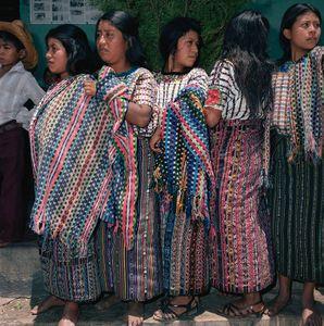Young Women, Santiago Atitlán, Guatemala 1986
