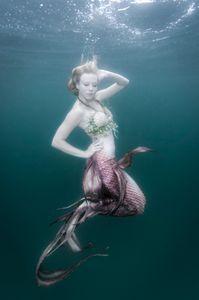 Mermaid pose