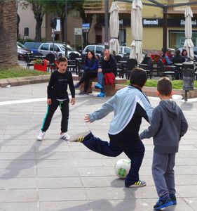 Street football, Italy  07
